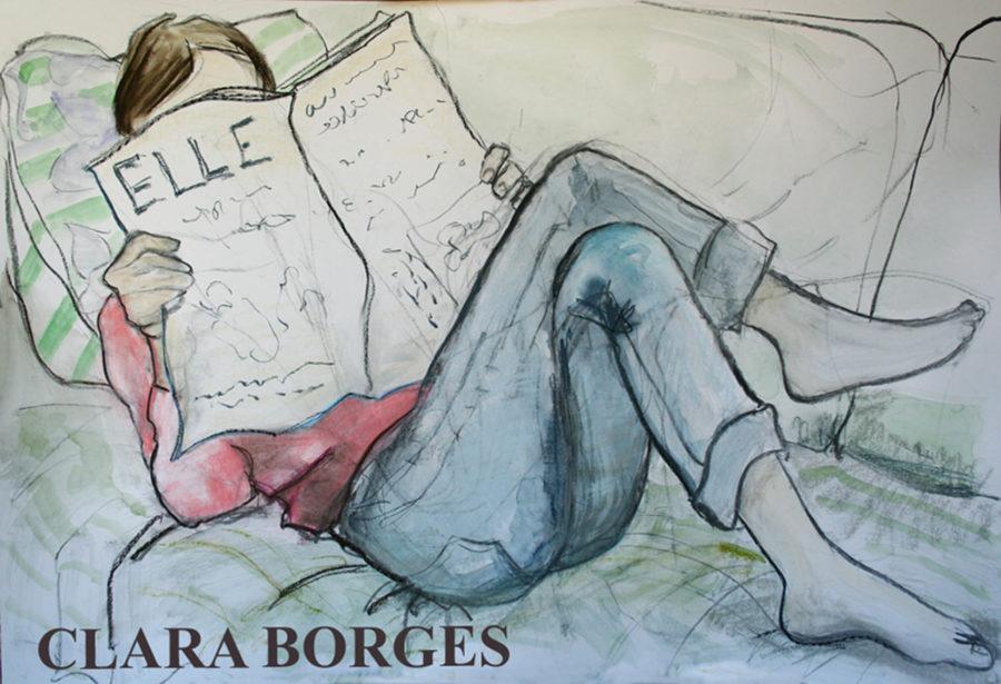 Dibujo de Clara Borges 1ª pintura y dibujos