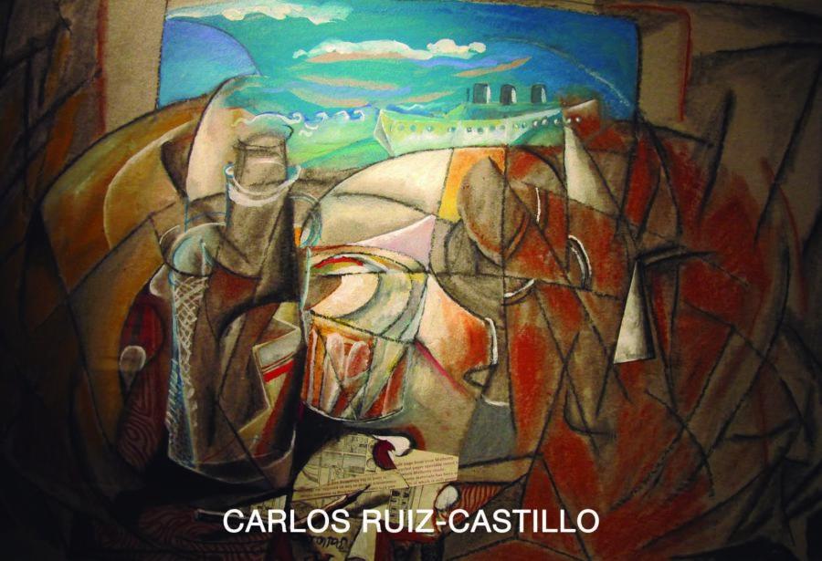Tarjeta Carlos Ruiz-Castillo 6ª pintura .